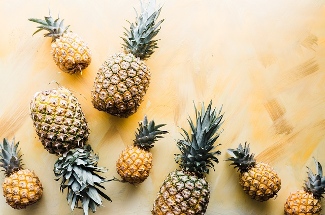 Owoce ananasów