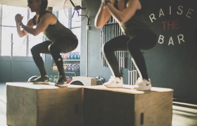 Ćwiczące kobiety