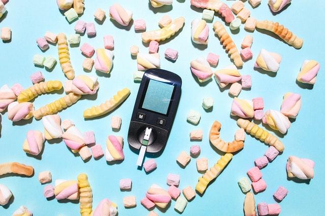 glukoter i słodycze