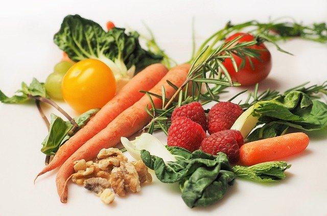 zdrowa dieta, warzywa