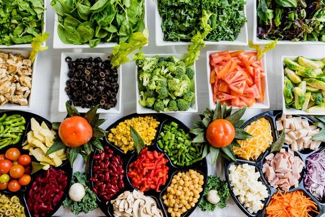 zdrowe jedzenie, warzywa
